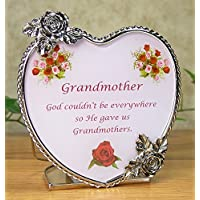 Mothers Day Gifts For Grandma Heart Shaped Glass Tea Light Holder Loving Poem About Grandma Gifts For Grandma...