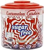Caramelos Sugar Free Round Lollipops x 100 (Drum)