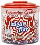 Caramelos Sugar Free Round Lollipops...