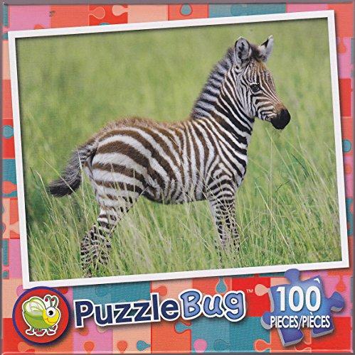 Puzzlebug 100 ~ Zebra (Baby) - 1