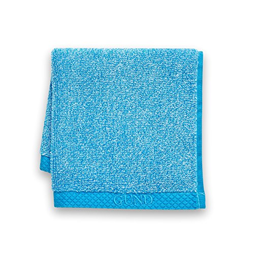 GUND Melange Face Towel 12'' By 12'',, Circus Blue - 1