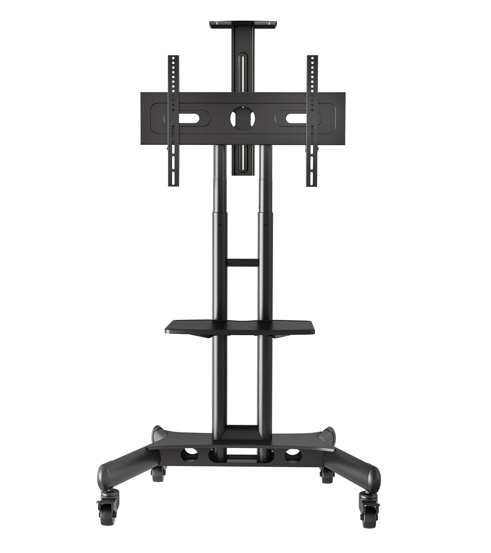 Mount Factory Rolling Tv Stand Mobile Tv Cart For Flat