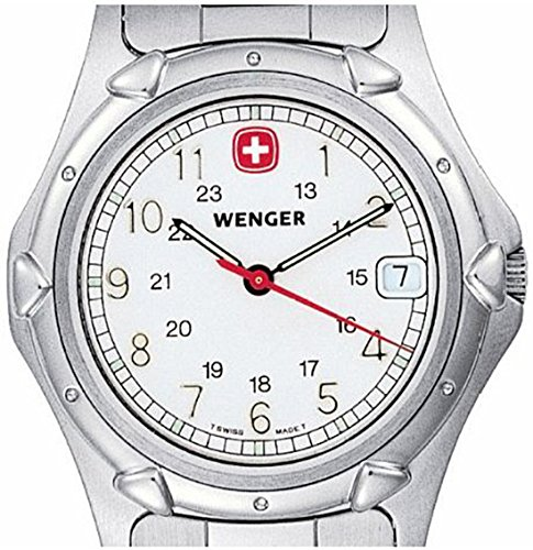 Womens Wenger® Standard Issue Military Watch, White Dial