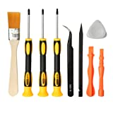 E.Durable Complete Screwdriver Set Repair Cleaning Tool Kit for Sony PlayStation 4 - PS4 Security Torx Screwdriver T9 (TR9) Phillips PH0 PH1 (PS4) (Color: Playstation PS4 Kit)