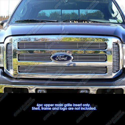 цена на 05-07 Ford F250/F350 Super Duty/Excursion Billet Grille Grill Insert # F65799A