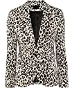 Women's Long Sleeve Leopard One Butto…