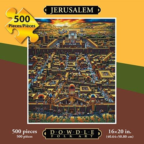 Jigsaw Puzzle - Jerusalem 500 Pc By Dowdle Folk Art