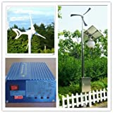 GOWE Green Energy 400 Watt 12V/24V Anticorrosion Farm/ Home / Wind Power Turbine / Turbines Generator +solar wind hybrid controller