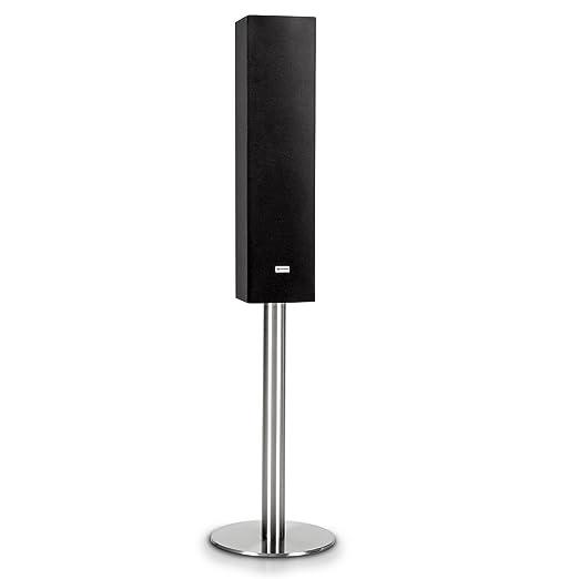 Auna Vertical B1 - Enceinte hifi design 120W Bluetooth USB AUX microSD - noir