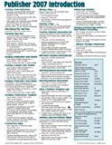 Microsoft Publisher 2007 Introduction Quick Reference Guide (Cheat Sheet of Instructions, Tips & Shortcuts - Laminated Card)