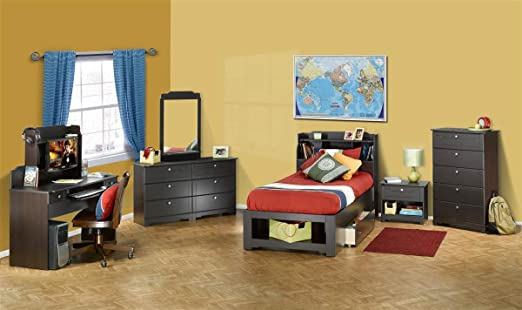 Nexera Dixon 4-Piece Bedroom Set in Espresso