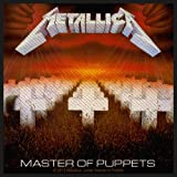 Metallica Master Of The Puppets Official New Patch (10cm x 10cm)