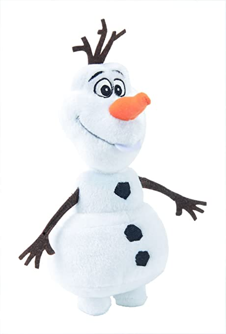 Disney Reine des Neiges Peluche Olaf Debout 20 Cm:...