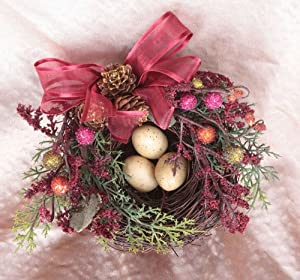 6.5 Christmas Traditions Legend of the Christmas Nest with Eggs Tree Ornament