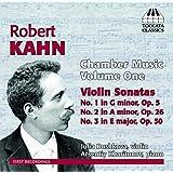 Robert Kahn: Chamber Music, Vol. 1