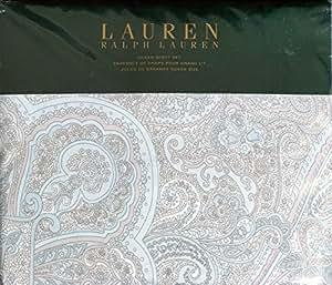 Amazon.com - Ralph Lauren 4pc QUEEN Sheet Set Light Blue