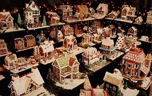 Gingerbread Houses in Lahaska, Pennsylvania