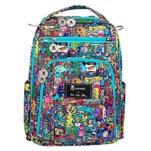 Ju-Ju-Be Be Right Back Backpack Diaper Bag,Tokidoki Kaiju City by Ju-Ju-Be