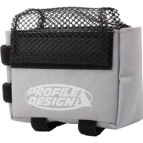 Profile Design Top Tube Mounted E-Pack (Large, Grey)