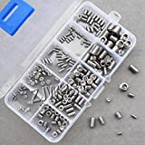 200pcs Stainless Steel Allen Head Socket Hex Set Grub Screw Assortment Cup Point New With Box