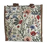 Ladies/Girls Shopper Floral Canvas Tote Shoulder bag Shopper bag Morning Garden Design