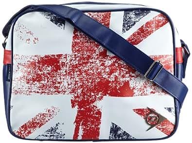 Dunlop  Great Britain, sacs bandoulière adulte mixte - Blanc - Weiß (white), 40x30x12 cm (B x H x T) EU