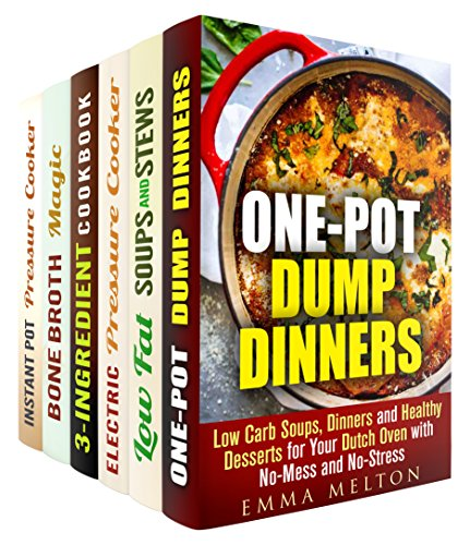 Healthy One Pot Box Set (6 in 1): Low-Carb, Low-Fat Dump Meals for Your Dutch Oven, Instant Pot Pressure Cooker, Slow Cooker, and Much More! (Paleo Native Food) by Emma Melton, Sheila Hope, Erica Shaw, Natasha Singleton, Melissa Hendricks