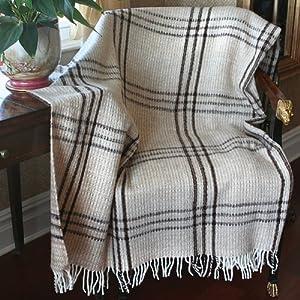 "Lamb Wool Plaid ""Vivaldi"" Throw Blanket 140x200cm"