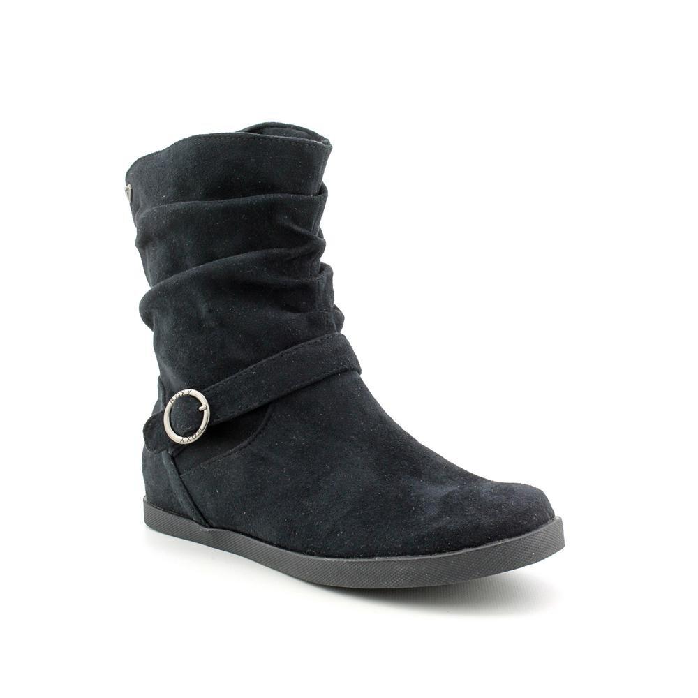 Roxy Women's Winnie Boot Black Faux Suede Size 6m