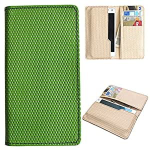 DooDa PU Leather Case Cover For Intex Aqua SECURE