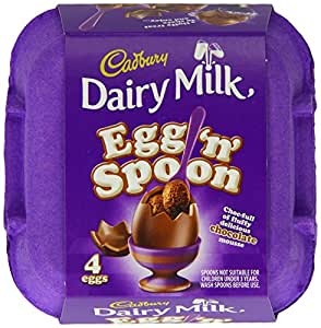 Cadbury Egg n Spoon Double Chocolate (Pack of 4)