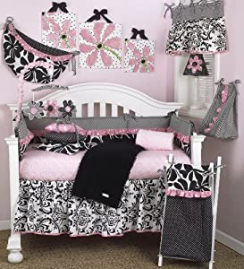 Cotton Tale Designs Girly 8 Piece Crib Bedding Set
