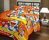 Shopnetix Doraemon (Cartoon) Single Bed Kids Dohar