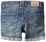 Levi's Girls 7-16 Ryanne Shorty Short, Blue Daisy, 12