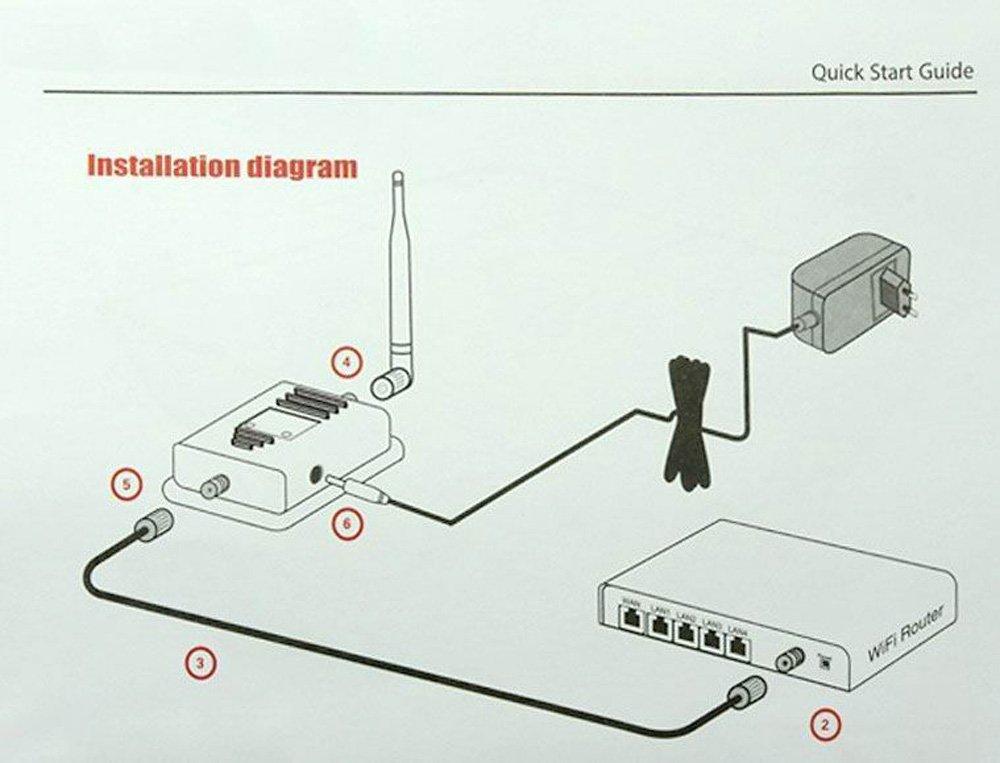 Усилитель сигнала wifi схема