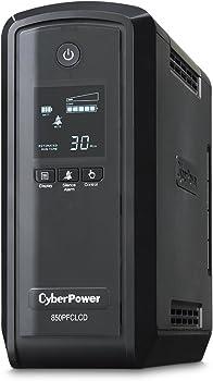 Cyber Power PFC 850VA LCD Sinewave Adaptive Intelligent UPS