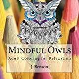 img - for Mindful Owls: Adult Coloring for Relaxation book / textbook / text book