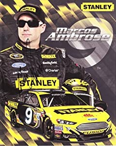 Buy 2013 Marcos Ambrose #9 Stanley Petty Racing Team 8X10 NASCAR Hero Card *AUTOGRAPHED* by Trackside Autographs