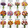 6 Months of Selected Flowers Bouquet  Flowers