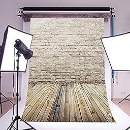 LB 5x7ft Brick Wall Vinyl Photography Backdrop Customized Photo Background Studio Prop ZZ44