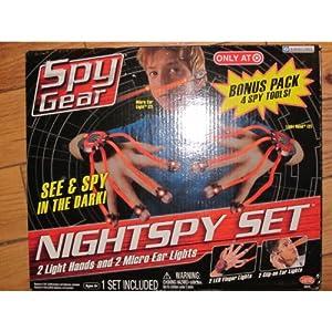 Spy Gear - Nightspy Bonus Set (2 Micro Ear, 2 Light Hands ...