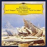 ベートーヴェン:ピアノソナタ第17番&第21番&第26番