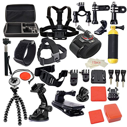 MCOCEAN 42-in-1 Go Pro 4 Accessories Kit for Sports Camera