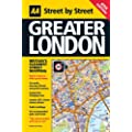 Street Atlas Greater London (flexiback) (AA Street by Street)