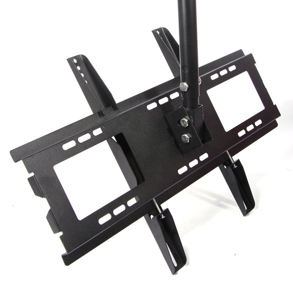 Lumsing Black Tilt Amp Swivel Lcd Led Plasma Flat Panel Tv