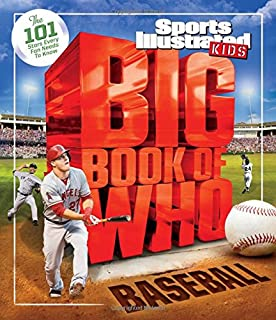 Book Cover: Big Book of Who: Baseball: The 101 Stars Every Fan Needs to Know