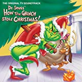 Dr. Seuss How The Grinch Stole Christmas! - Green Colored LP