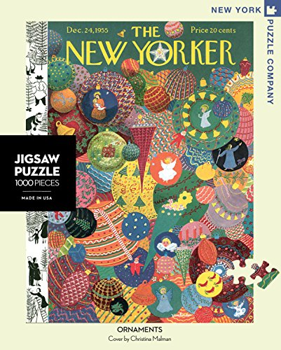 New York Puzzle Company - New Yorker Ornaments - 1000 Piece Jigsaw Puzzle (New York Puzzle Company 1000 compare prices)