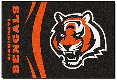 Fanmats Cincinnati Bengals Uniform Inspired Starter Rug