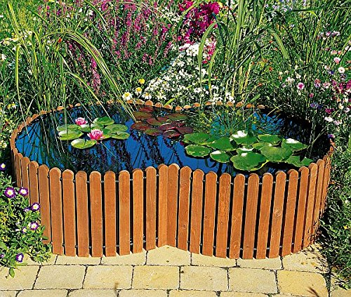 Build A Raised Pond: Raised Pond Pool Garden Outdoor Decoration Water Fish Kit